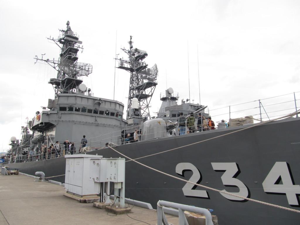海上自衛隊 呉基地 艦艇一般公開のススメ 艦艇詳細編